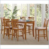 Atlantic Furniture Venetian 7 Piece Pub Height Dining Set