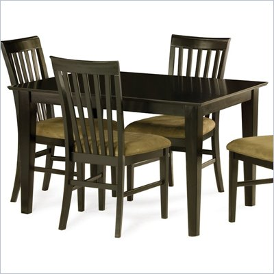 Atlantic Furniture Shaker Dining Table in Espresso