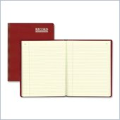 Rediform Red Vinyl Account Book