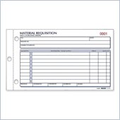 Rediform Material Requisition Purchasing Form