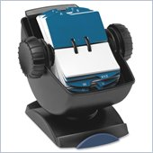 Rolodex Swivel File With See-through Cover