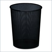 Rolodex Expressions Mesh Metal Wastebasket