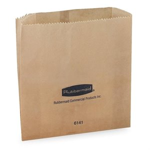 Rubbermaid Waxed Receptacle Bag