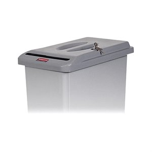 Rubbermaid Slim Jim Confidential Document Container Lid