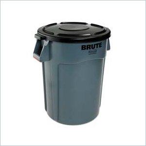 Rubbermaid BRUTE 44-Gallon Waste Containers RUB264360BK