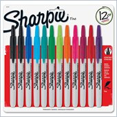 Sanford Sharpie Retractable Fine Point Markers