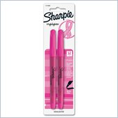 Sharpie Accent Pink Ribbon Highlighter