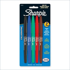 Sharpie Calligraphic Marker Pen Set