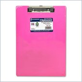Saunders Neon Plastic Clipboard