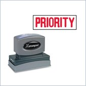 Xstamper Pre-Inked PRIORITY Message Stamp
