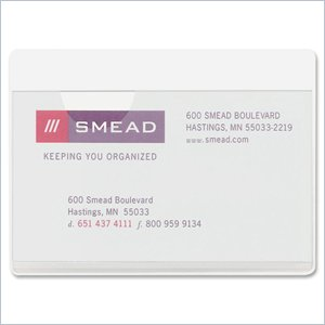 Smead Self-Adhesive Poly Pocket