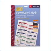 Smead Straight-Line Viewables Labeling System Label