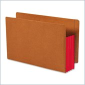 Smead TUFF Pocket End Tab File Pocket with Colored Gussets