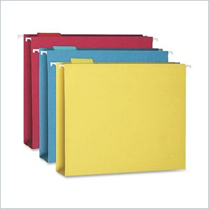 Smead Colored Box Bottom Folder