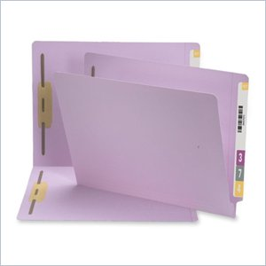 Smead End Tab Fastener Folder