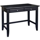 Home Styles Bedford Wood Laptop Writing Desk in Ebony