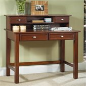 Home Styles Hanover Wood Laptop Writing Desk in Cherry