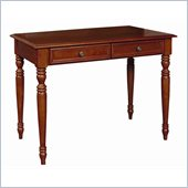 Home Styles Homestead Student Writing Desk in Distressed Warm Oak