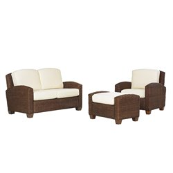 Home Styles Furniture Cabana Banana 3 Piece Set in Cocoa Finish