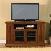 Home Styles Furniture Homestead Wood LCD/Plasma TV Stand in Distressed Oak Finish