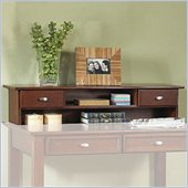 Home Styles Furniture Hanover Solid Wood Student Desk Hutch in Cherry Finish