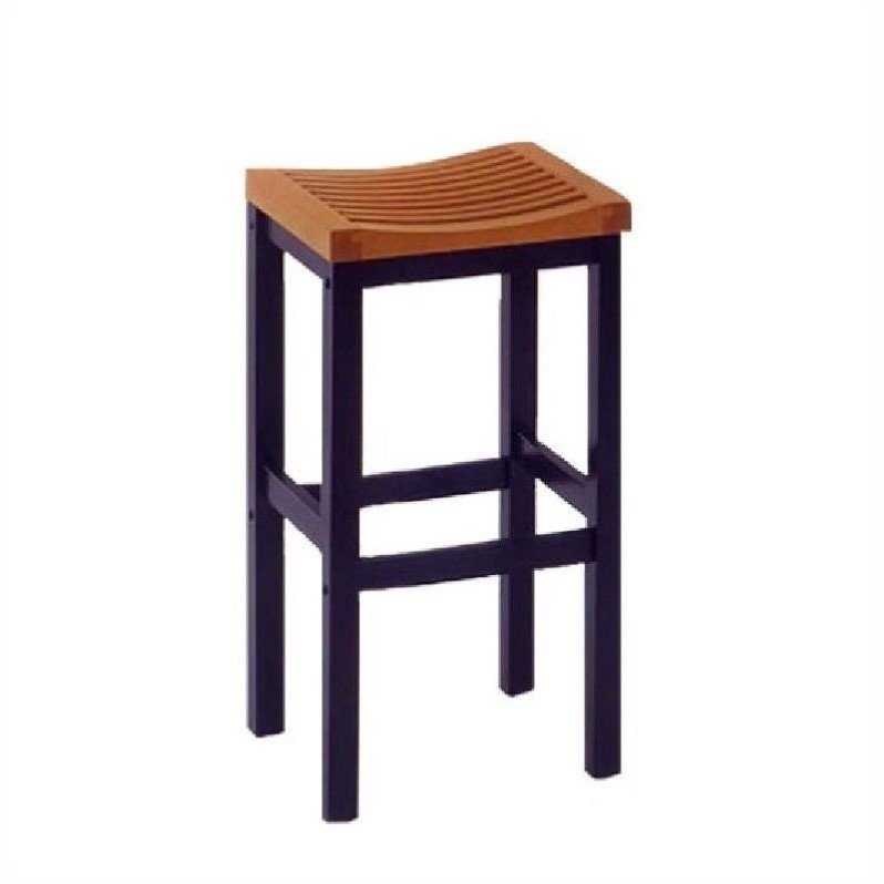 Home styles furniture contour black w oak veneer table bar stool pub set ebay Home pub bar furniture