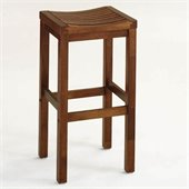 Home Styles Furniture 29 Solid Hardwood Backless Bar Stool in Oak