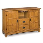 Home Styles Arts & Crafts Dining Buffet in Cottage Oak