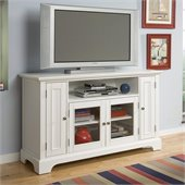 Home Styles Naples Entertainment Credenza in White