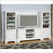 Home Styles Naples Entertainment Credenza with Cabinets Set