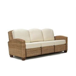 Home Styles Cabana Banana Three Seat Sofa in Honey