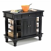 Home Styles Kitchen Island in Black