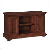Home Styles Homestead TV Stand in Distressed Warm Oak Finish