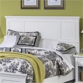 Home Styles Naples Queen Panel Headboard in White Finish