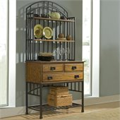 Home Styles Oak Hill Baker's Rack in Oak Finish