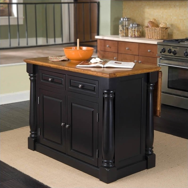about home styles monarch island bar stools 3 pc set kitchen cart