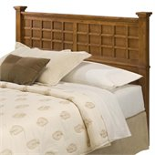 Home Styles Arts & Crafts Queen Headboard in Cottage Oak Finish