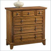 Home Styles Arts & Crafts Chest in Cottage Oak Finish