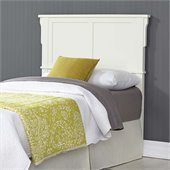 Home Styles Arts & Crafts Queen Headboard in White Finish