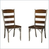 Home Styles Bordbeaux Dining Chairs in Birch (Set of 2)