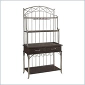 Home Styles Bordbeaux Bakers Rack in Birch