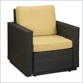 Home Styles Riviera Arm Chair in Harvest