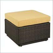 Home Styles Riviera Ottoman with Harvest Cushion in Harvest