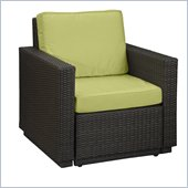 Home Styles Riviera Arm Chair in Green Apple