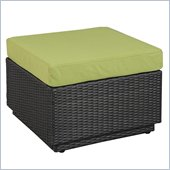 Home Styles Riviera Ottoman in Green Apple