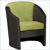 Home Styles Riviera Barrel Accent in Green Apple