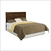 Home Styles Paris Queen Headboard in Mahogany