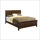 Home Styles Paris Queen Bed in Mahogany