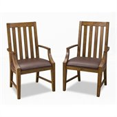 Home Styles Arts & Crafts Game Chair Pair