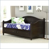 Home Styles Bermuda Wood Daybed with Storage in Espresso Finish